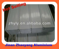 0.3mm-1.5mm white corrugated roofing sheet