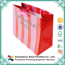 High quality china supplier printing handmade cardboard paper shopping bag