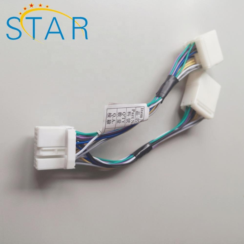 14 Pin Automotive Connector Male To Female Y Splitter Cable Wiring Harness  For Honda-civic - Buy Automotive Wire Harness,Automotive Connector For Wire  Harness,Radio Wire Harness Product on Alibaba.comAlibaba.com
