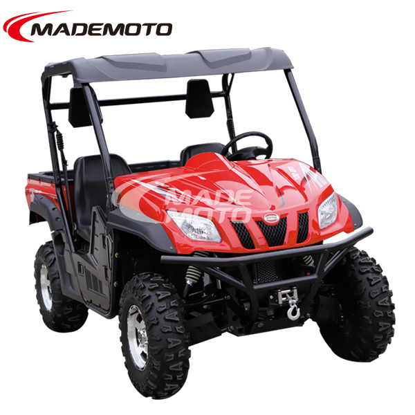 Durable 600cc camouflage side by side utv 4x4 atv for sale