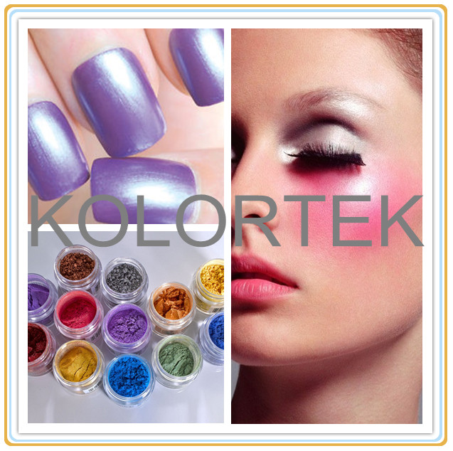 Iridescent pearlescent mica colors powder for cosmetics private label