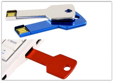 2014 cheap golden key usb with full color printing
