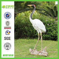 Large Crane Statue Resin Animal Statue