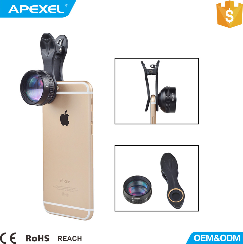 High-end 2x telephoto zoom camera lens APL-60MMH super telephoto lens for smartphone