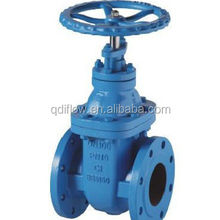 din standard waste water use gate valve