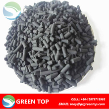 Columnar coal activated carbon for removal of di-chloroethane