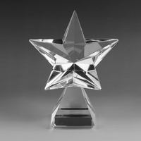 High Quality Crystal Star Crystal awards and trophies Award Souvenir crystal crafts