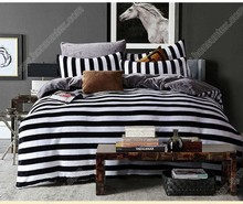 Wholesale brand new polyester super soft fleece printed zebra stripe comforter