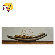 100%Handpainted 3D Relief Still Life Wall Painting for Home Decorating Canvas Painting Designs