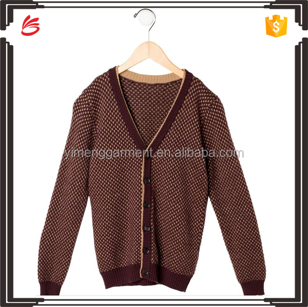 2017 new design children cardigan of high quality OEM service