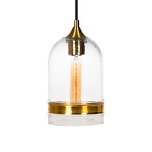 New Design Smoke Round Hand Blown Glass Pendant Light for Home Decor