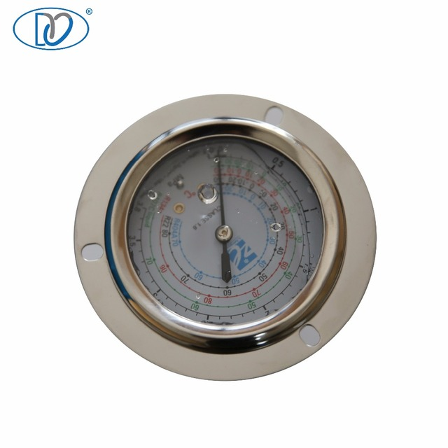 China Manufacture MPA Glycerine or Silicone Oil Filled Pressure Gauge