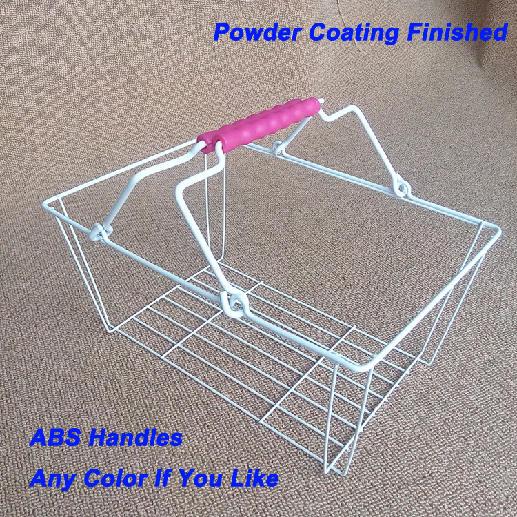 Nylon mesh cover small shopping basket