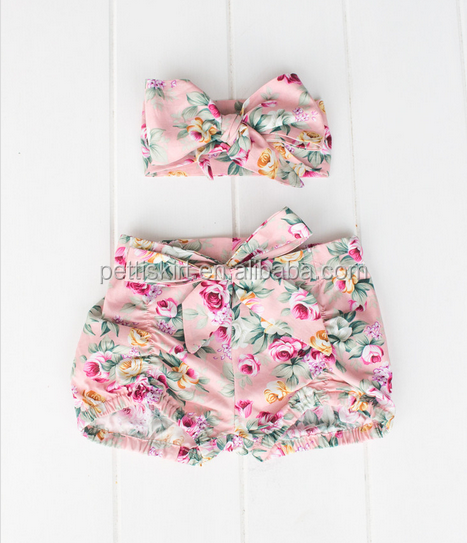 boutique cotton baby ruffle diaper cover bloomers wholesale
