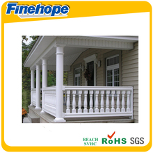 high quality China OEM plastic banister outdoor banister