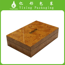 China factory Accept Customize rustic hinging antique sell used wooden wine box
