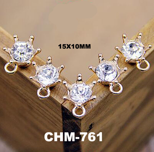 New Designs Crystal Crown Gold Charm Jewelry New Design Gold Pendant Men