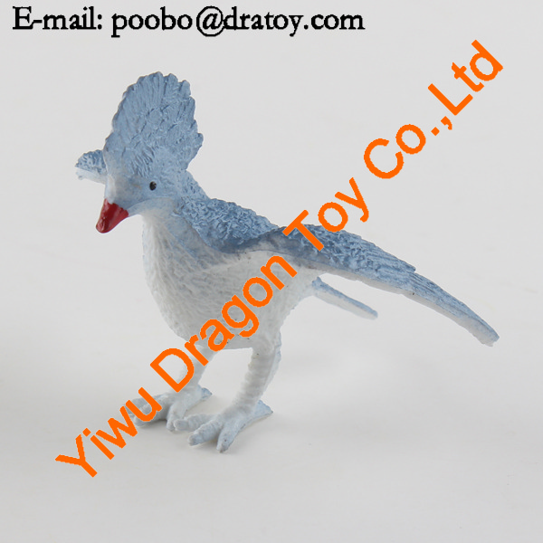 Custom plastic bird figure pvc toys for promotion