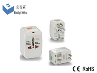 Bottom price unique all in one travel adapter world
