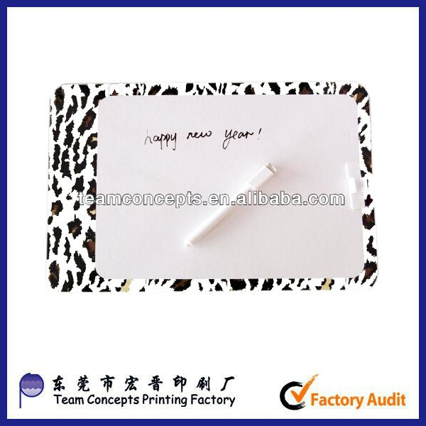 cardboard magnetic smart board with pens