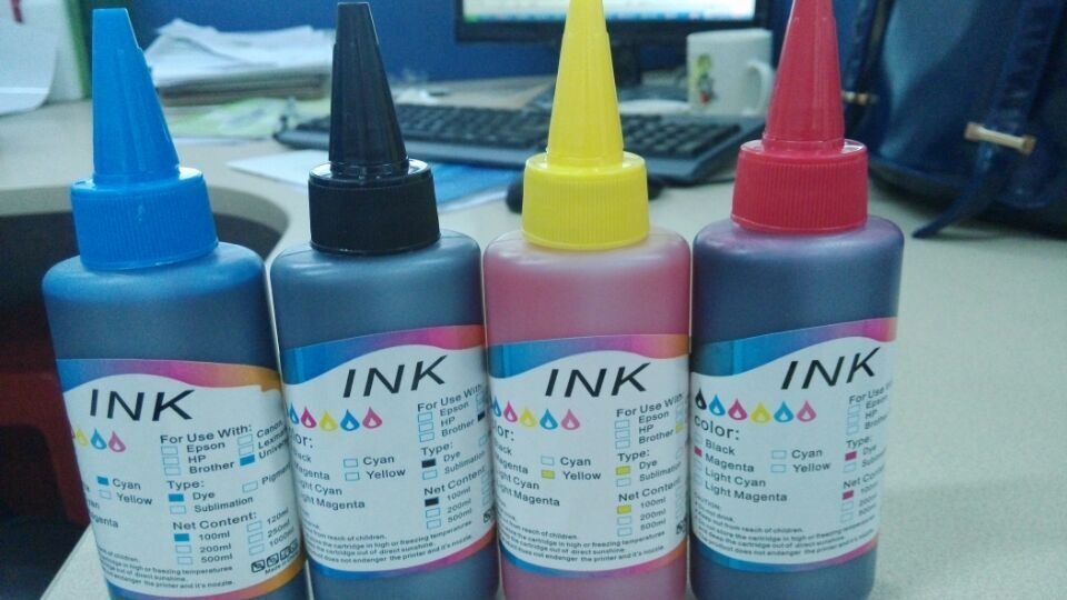 Inkjet Printer Universal High Quality Ink Use for Epson/HP/Canon/Brother Bottle Ink