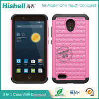 Wholesale Good Quality TPU PC Cell phone Case for Alcatel case
