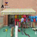 Aluminum Motorized Retractable Arm Half Cassette Awnings