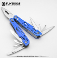 Large-size multi-function foldable outdoor combination pliers