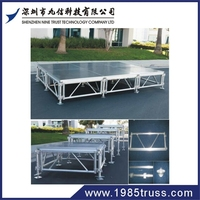 Hot alibaba outdoor portable stage curtains led