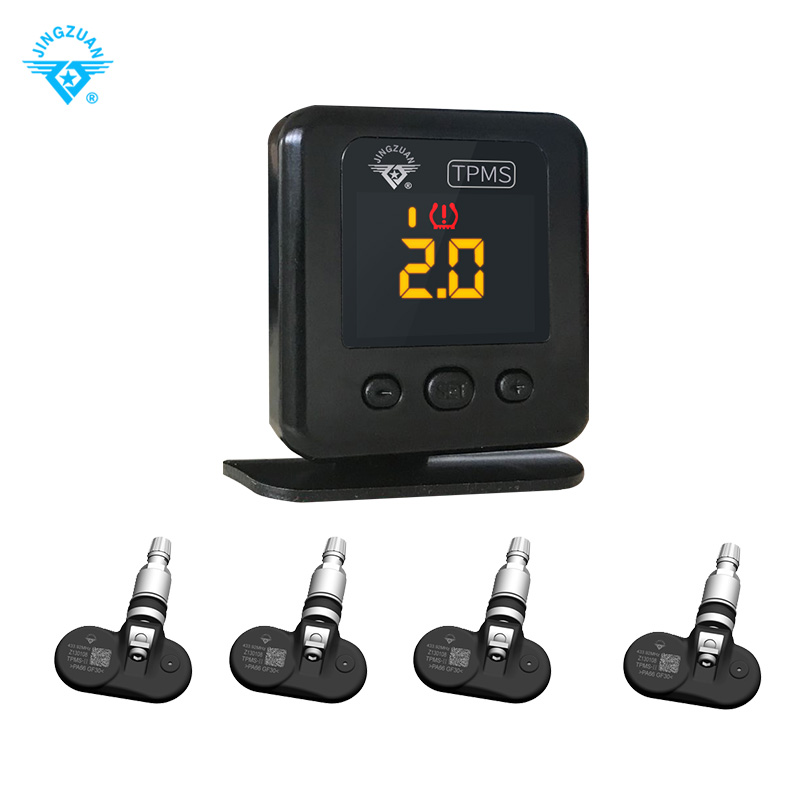 New Design Tire Pressure and Temperature monitor OBD Socket tpms with Bluetooth