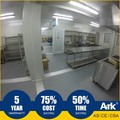 Ark Top Quality Good Price Long Lifespan Flatpack Prefabricated Steel Mining Field Kitchens and Diners
