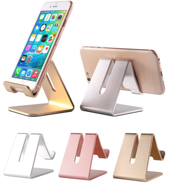 Universal display stand metal aluminum phone holder