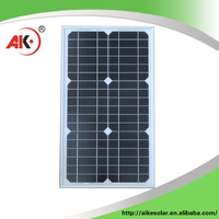 Best prices newest 30watt monocrystalline solar panel