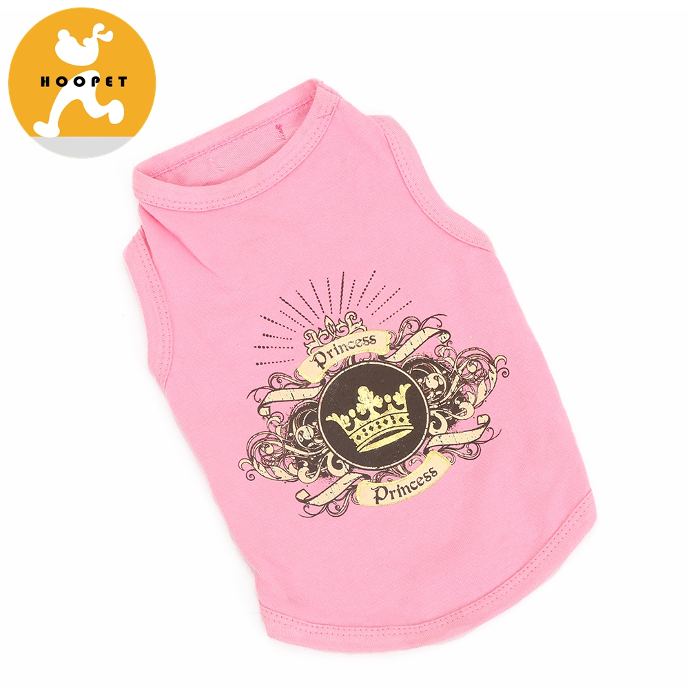 Pet Fashion T-shirt Girl Dog Clothes