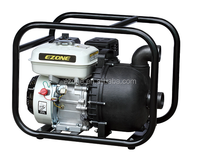 2 inch Chemical Gasoline Water Pump With 6.5hp engine used for Salt Water PVC material