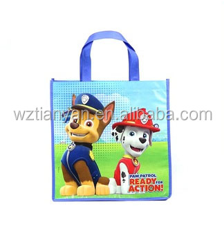 New design eco customize recycled fashion pp woven shopping bag