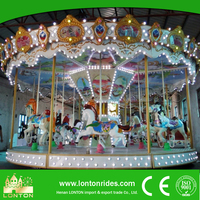 Mini Amusement Rides Manufacturer Used Carousel For Sale Kiddie Rides