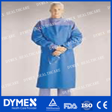 Doctor's gown Operation Sterilized Clothes medical surgical gown with sleeve white surgical gown with cap