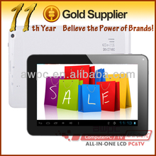 "9"" Allwinner A13 Cortex A8 tablet pc 512MB/8GB + andriod 4.0+ wifi+multi touch+3000mAh"
