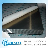 DIN 316 mirror polished stainless steel sheet plates