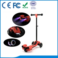faoctory supply good quality kids kick scooter with CE FCC certificates