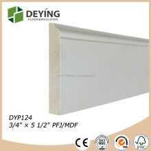 PU / UV finished Baseboard moulding / skirting board