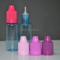 Factory Price 15ml e juice & liquid bottle 0.5oz plastic bottles e-liquid for electronic cigarette oil