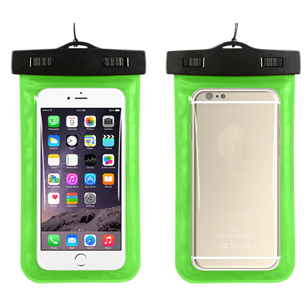 Waterproof soft pvc material cell phone case cover for samsung galaxy s3 s4 s5 s6 s6 edge