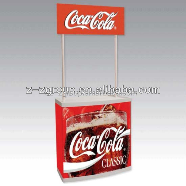 pvc/abs/PP Advertising Counter Display for Exhibition Booth