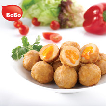 Popular Frozen Halal Fried Food Salty 200g Baked Chicken Meatball