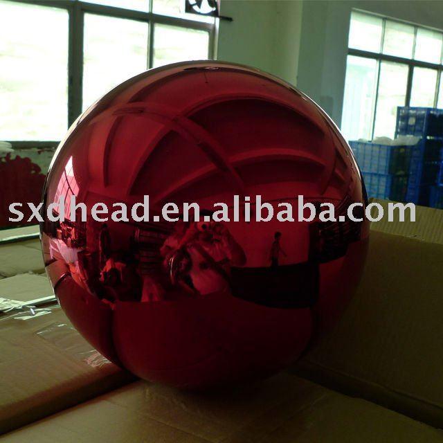 Christmas hollow steel ball