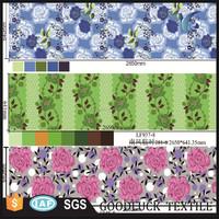 Pigment/Disperse Microfiber Duvet Cover Printed Fabric