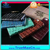 High quality crocodile leather cases for iphone 5 or 5s