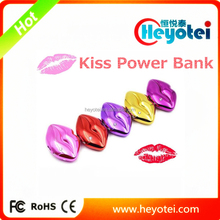 8800mah Sexy Kiss Power Bank Big Lipstick Powerbank Safety RoHS Power Bank